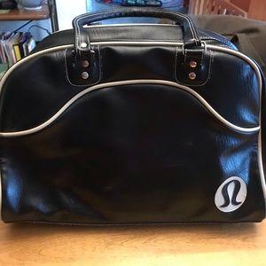 Vintage Lululemon Faux Leather Gym Bag